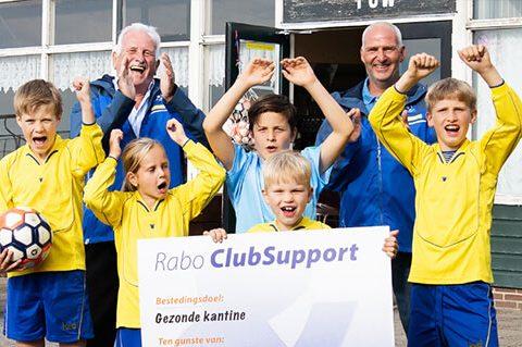 Wederom een mooi bedrag voor Eendracht dankzij Rabo ClubSupport