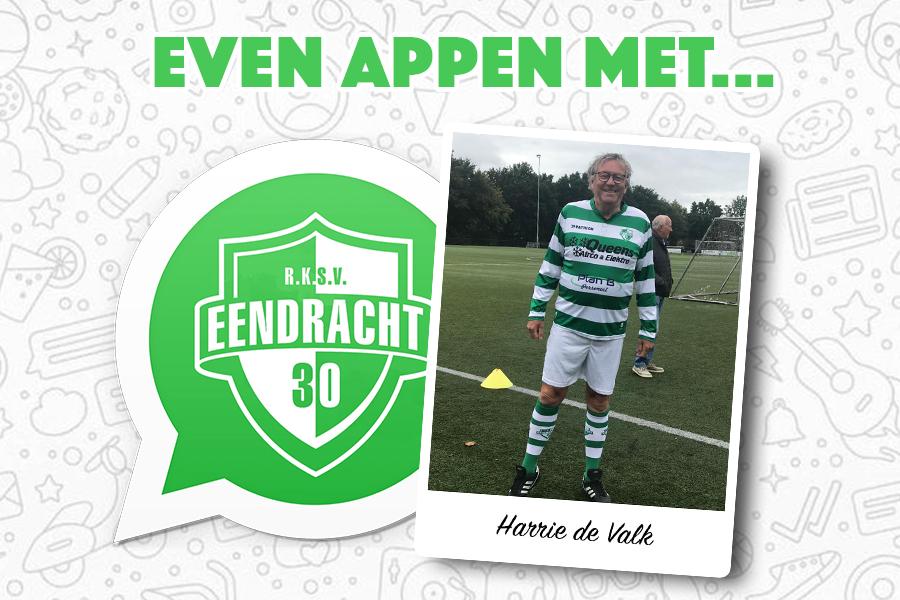 Even appen met... Harrie de Valk (Walking Football)