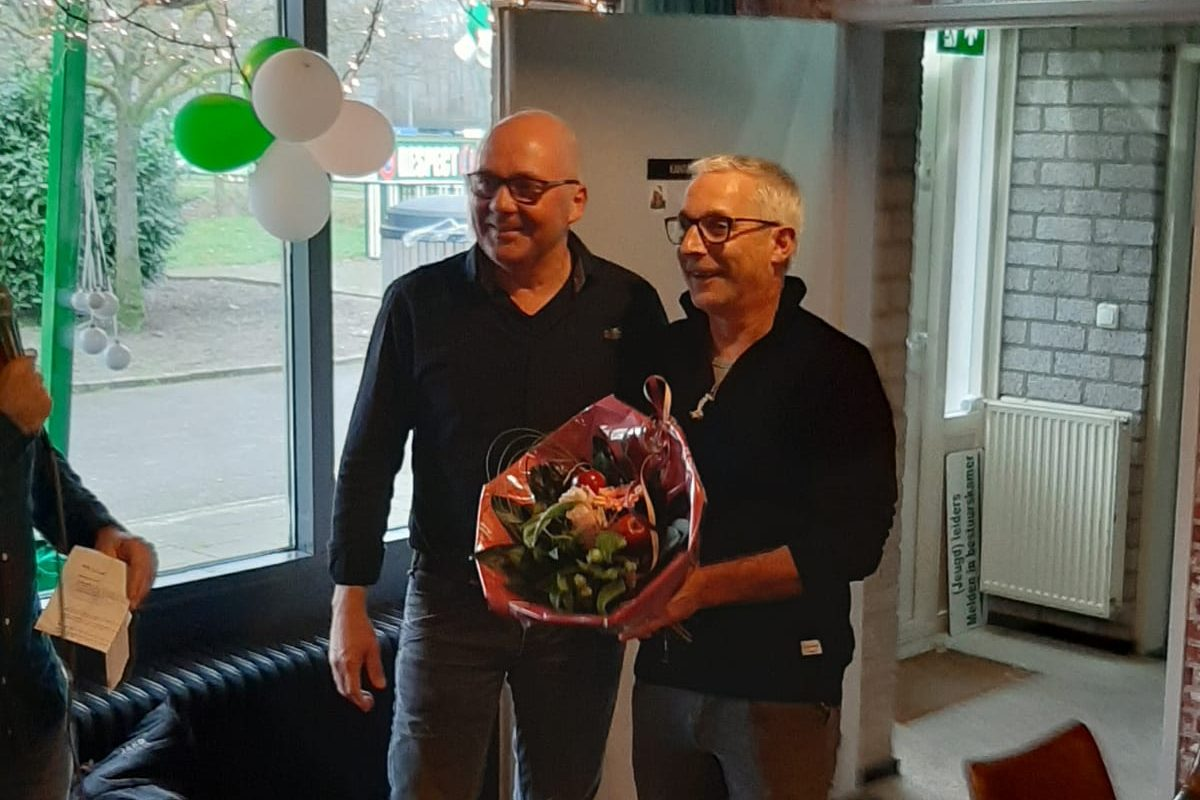Bart Roeloffs Eendrachtclubman van het jaar!